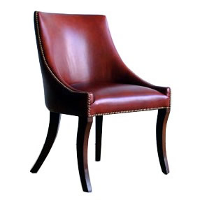 Findon Dining Chair - leather