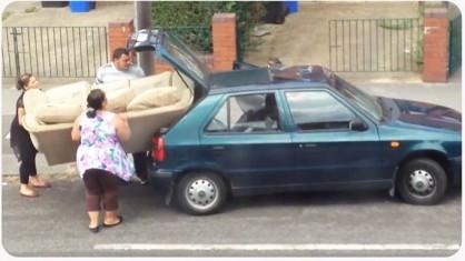 I think we need a bigger car!